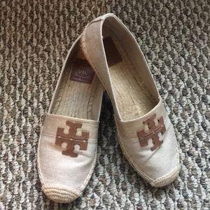 Tory Burch Espadrille Size 7.5